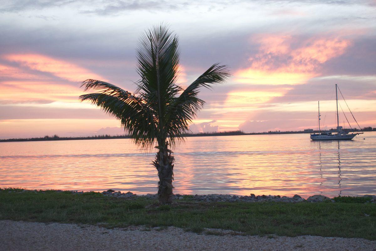 Sunset in Key West FL