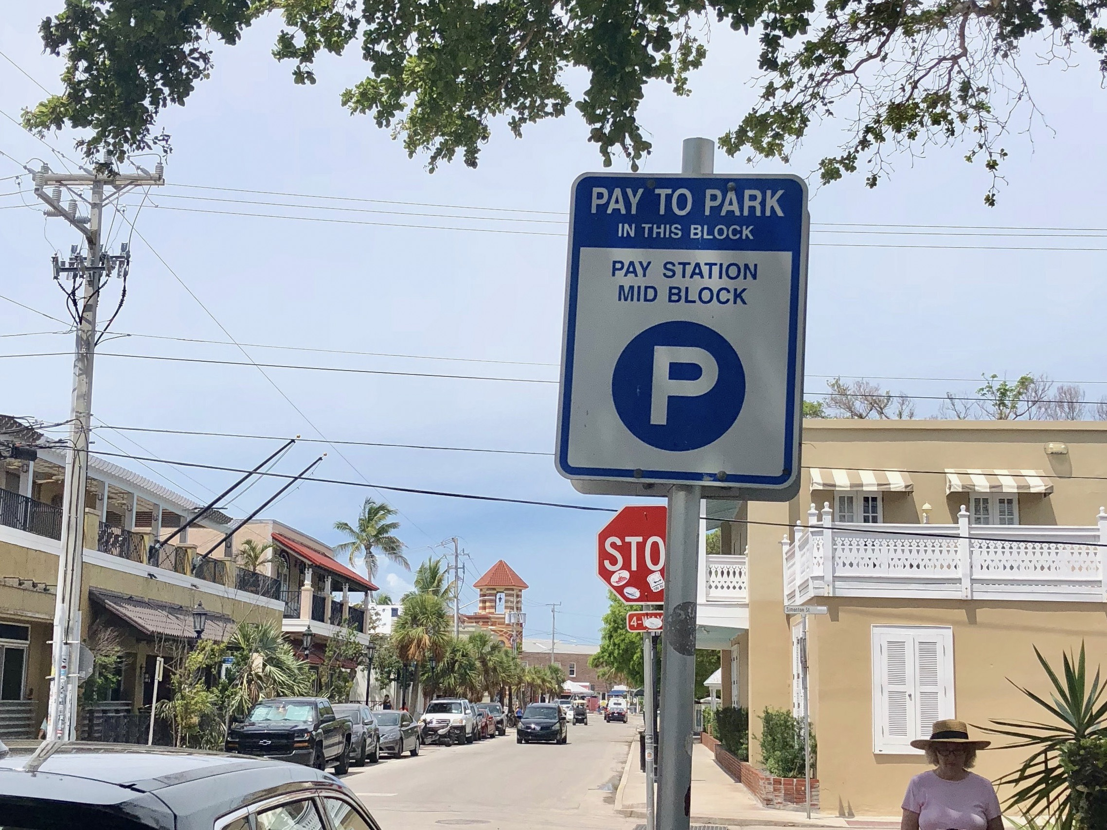 Pay to Park sign in Key West FL